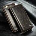 Оригинал CaseMe Brand Leather Case for iPhone 7 Plus 5SE 6 S 6 Плюс Магнит Флип Кожаный Чехол для iPhone 6 S 5S SE