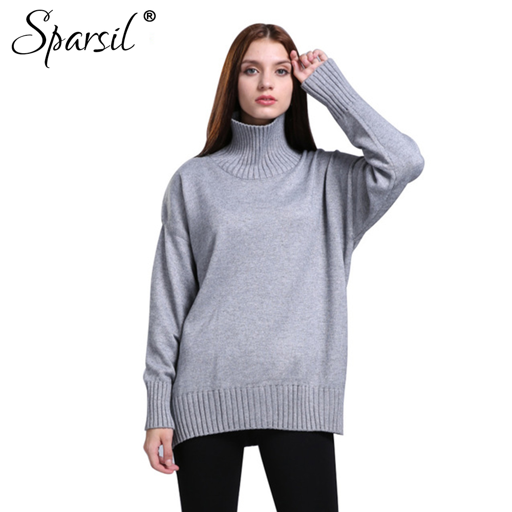 Aliexpress.com : Buy Sparsil Women Autumn Turtleneck