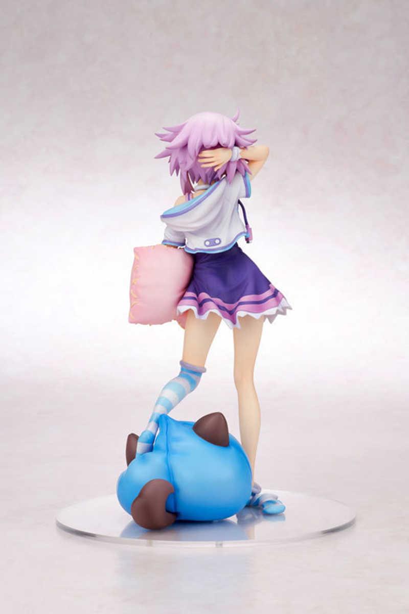 20 см 1/8 ПВХ японское аниме фигурка Choujigen игра Neptune с подушкой фигурка коллекционные игрушки-модели подарочные Brinquedos