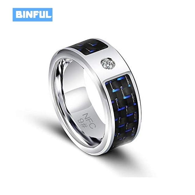 07c6c9d60b42 Новые умные кольца NFC RF7 новые технологии Волшебный палец Смарт NFC  кольцо носимых универсальный для Android