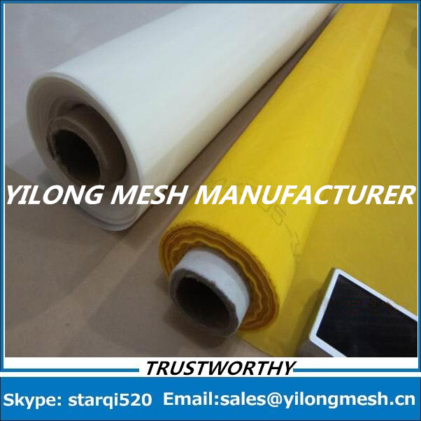 Free Shipping And Fast Delievery 10 Meters 80T 200mesh 48um 315cm White Polyester Monofilament Silk Screen