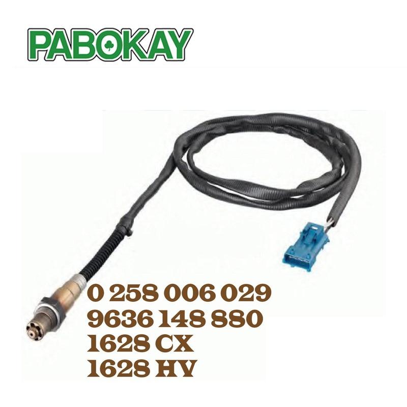 Oxygen O2 Lambda Sensor for Citroen Xsara Picasso Xantia C4 Evasion 1628HV 1628CX 96 229 977 NEW 0258006029 1628.CX 1628.HV