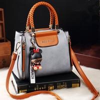 women leather shoulder bag CHISPAULO brand messenger bag New 2018 handbag Free fashion dolls