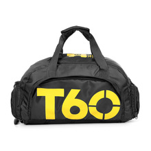New Brand Large Capacity Gym Bag Outdoor Women Men T60 Sports Bag Shoulder Tote Duffel Multifunction Fitness Bag AC13