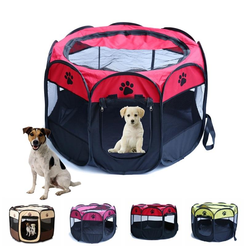 Aliexpress Com Buy Portable Dog Cat Pet Puppy Drinker: Portable Folding Pet Tent Dog House Fordable Travel Pet