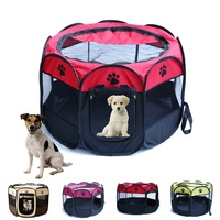 Portable Folding Pet Tent Dog House Fordable Travel Pet Dog Cat Play Pen Sleeping Fence Puppy Kennel Cushion Beds & Sofas