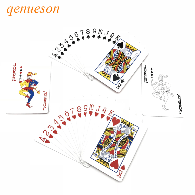 1-set-little-letters-texas-hold'em-paper-playing-cards-smooth-font-b-poker-b-font-cards-deck-baccarat-board-games-card-248-346-inch-qenueson