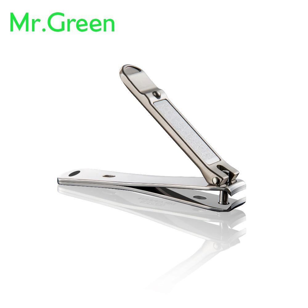 MR.GREEN נירוסטה נייל קליפר Cutter גוזם - עיצוב ציפורניים