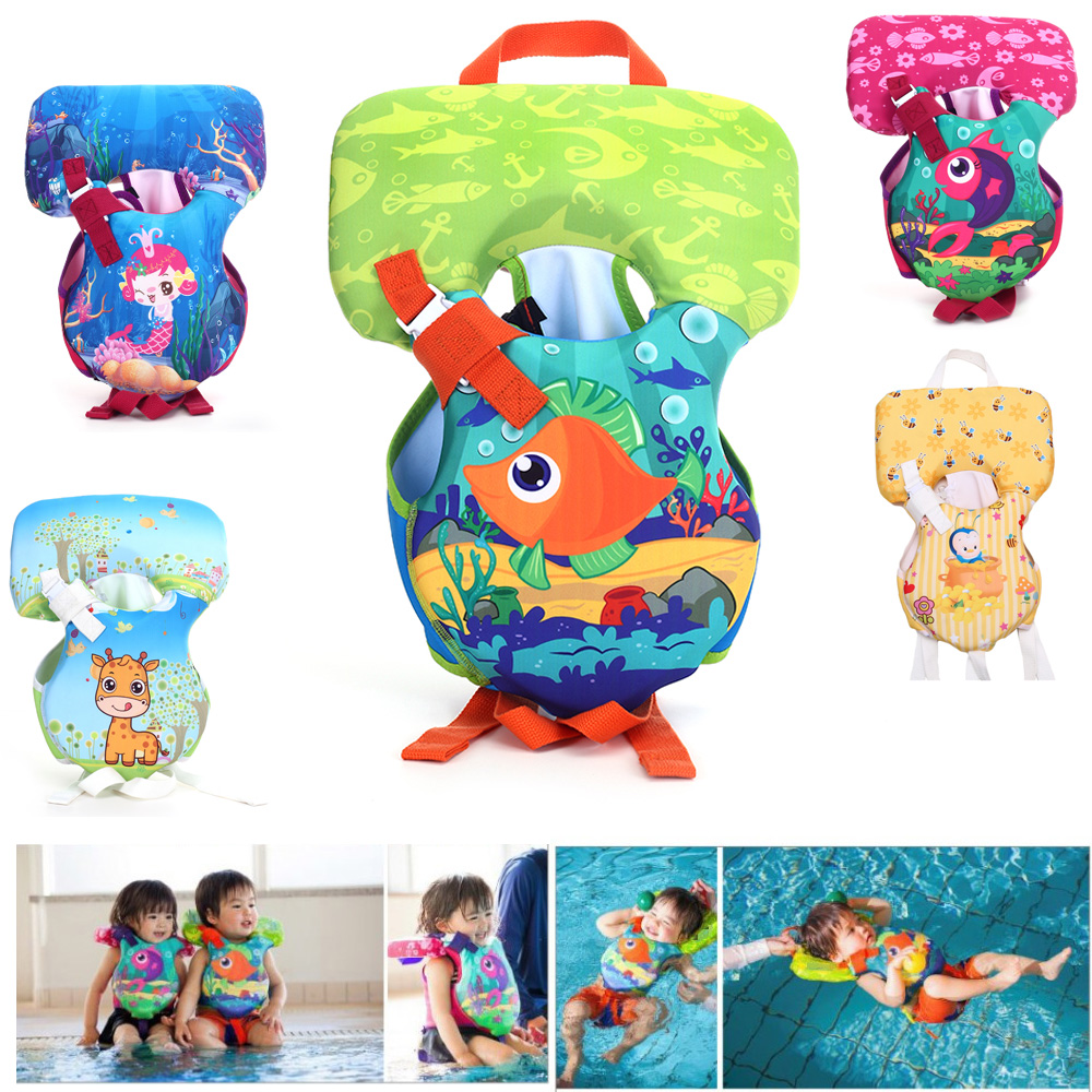 Inflatable Floatation Life Jacket Buoy Baby Swimming Vest Infant Swim Circle Toddler Newborn Float Trainer Ring Baby Toys