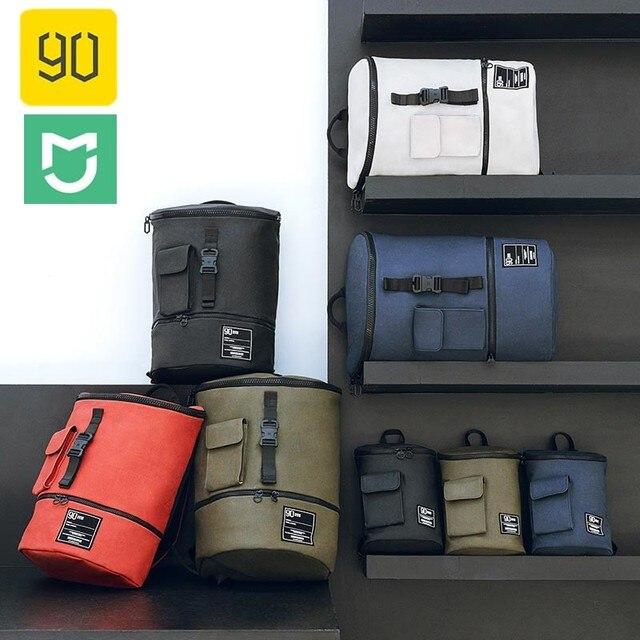 Xiaomi Fashion Chic Backpack Waterproof 90FUN Bagpack Men Women School Bag Shopping Rucksack Casual Laptop Large Capacity Bag