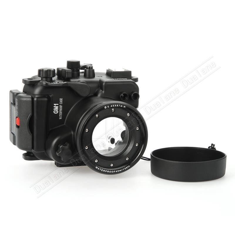 Waterproof Underwater Housing Camera Housing Case for Panosonic GM1 Camera 12 32mm len