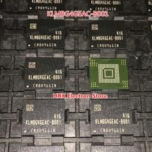 100% New Original KLMBG4GEAC B001 32G BGA EMMC KLMBG4GEAC B001 (1 10piece)