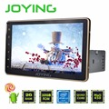 """Joying 2 gb + 32 gb único 1 din 8 """"Android 5.1 Unidade de Cabeça Estéreo Rádio Do Carro Universal Ouro Quad Core Suporte PIP Câmera NFC OBD2 DVR"""