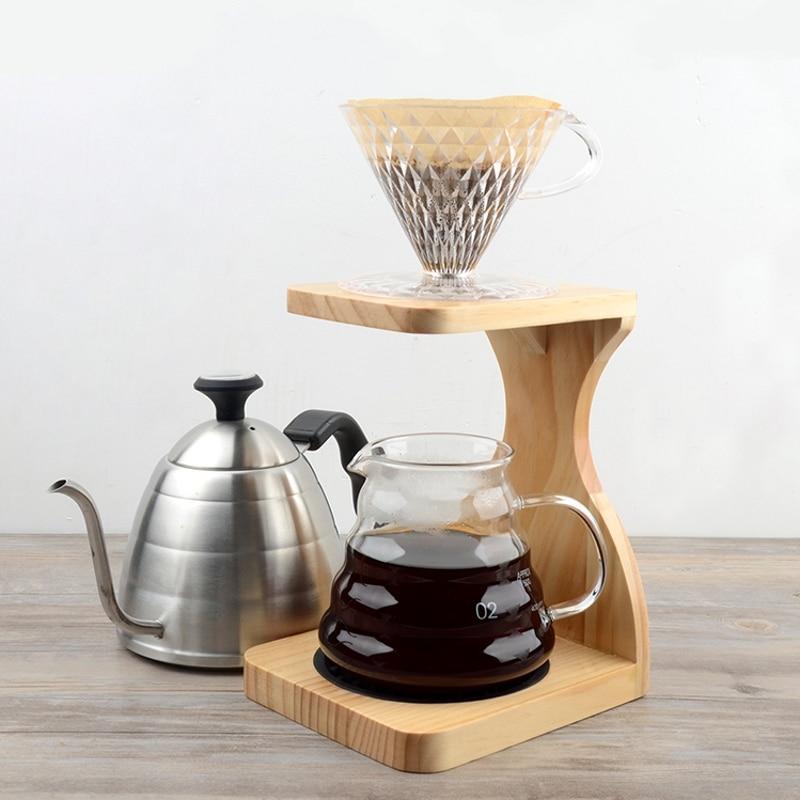 real wood v60 brewing