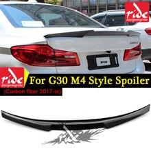 G30 carbon fiber Rear spoiler Wing WAEM4 Style new 5 series 520i 525i 530i 540i 550i G31 rear Trunk Lip 2017-in