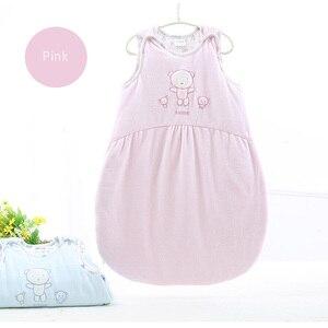 Image 5 - Baby schlafsack lange zipper infant baby sack baby winter schlafsack kinder kleidung pyjamas neugeborenen cartoon schlafsack