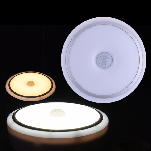 2016 NEW Modern LED Ceiling Light With PIR motion sensor Group Controlled light on/off Changing Lamp For Livingroom Bedroom
