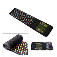 Medialbranch Colorful Plastic Foot Massager Pad Acupuncture Cobblestone Yoga Mat 175 35cm YF2017