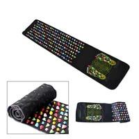 Medialbranch Colorful Plastic Foot Massager Pad Acupuncture Cobblestone Yoga Mat 175 35cm YF2017