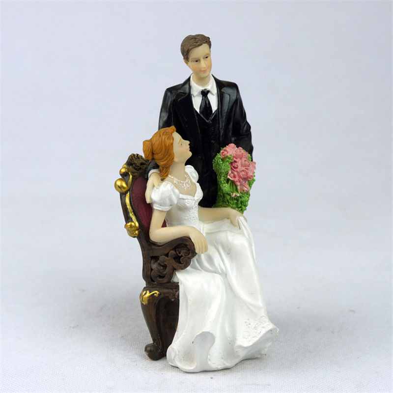 toppers couple figurine wedding funny cake topper for romantic wedding