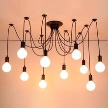 hot deal buy led pendant lamps modern pendant lights coffee house black iron led pendant light dining room lightsnordic light vintage lamps