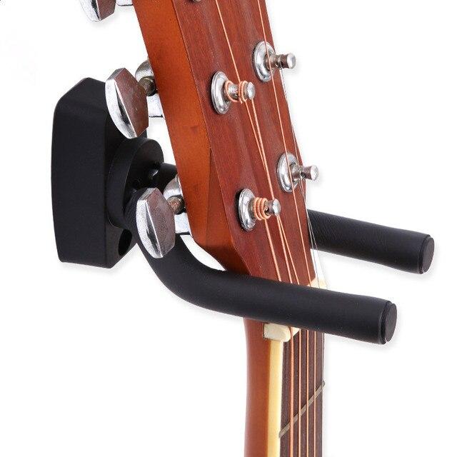 גיטרה קולב Stand קיר הר וו מחזיק Fit עבור בס Ukulele ועוד כלי נגינה