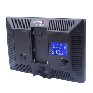 Viltrox L116B супер тонкий ЖК-дисплей с регулируемой яркостью Светодиодная лампа для освещения видео панель для камеры DV видеокамеры DSLR фото