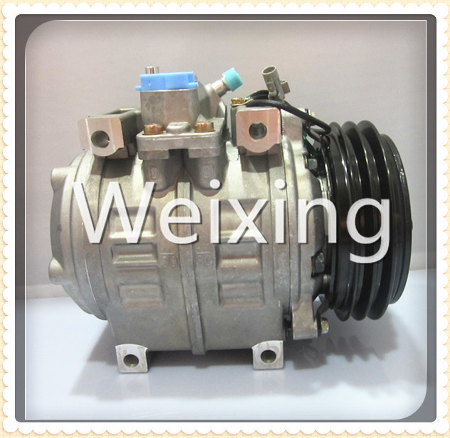 Auto Air Conditioning Compressor 10P30C 24V for Toyota Coaster Mini Bus 24 Volt Pulley PV2 447220-0394