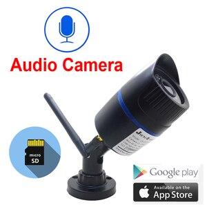 Image 1 - Câmera Ip wi fi 1080 P 960 P 720 P HD de Segurança Cctv Ao Ar Livre Indoor Sem Fio À Prova D Água Infravermelho de Vigilância de Áudio IPCam câmera em casa
