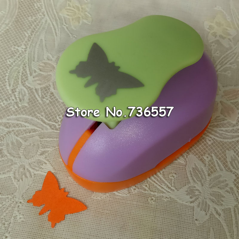 free shipping Butterfly 2'' craft punch paper cutter scrapbook child craft tool hole punches Embossing device kid S2935-3 колготки детские брестские