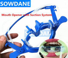 Dental Oral Dry Field System Nola Dental Orthodontic Implant Retractor Lip Cheek Retractor and Mouth Opener with Suction System