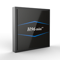 H96 mini TV Box Android 7.1 Amlogic S905W 2GB RAM 16G ROM 5G 2GHZ WIFI Smart Set For android tv box USB 2.0 remote control