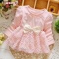 Baby girl dress princesa sofia dress party girls bebé para niños pequeños vestidos de niña ropa del tutú embroma la ropa