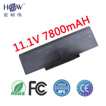 7800mah 9 Cells Notebook Battery For Dell Inspiron 1425 1427 1428 Series BATEL80L6 BATEL80L9 BATFL91L6 BATFT10L61
