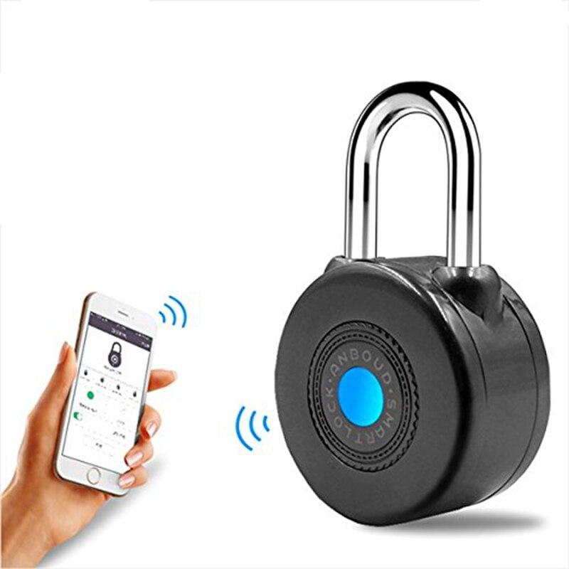 Bluetooth serrure intelligente Anti-vol alarme serrure pour vélo moto porte avec contrôle APP
