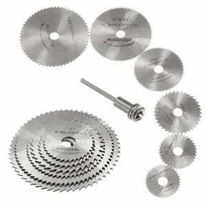 7pcs Mini HSS Circular Saw Bla