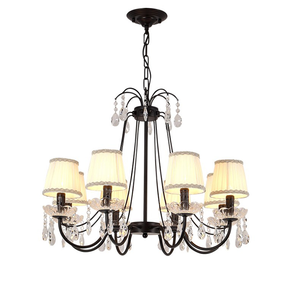 HTB1pE7tBLiSBuNkSnhJq6zDcpXab Modern Flush Mount Home Gold Black LED K9 Crystal Ceiling Chandelier Lights Fixture for Living Room Bedroom Kitchen Lamps
