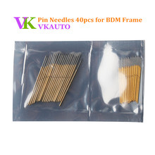 40pcs Needles BDM Frame Pin Include 20pcs Long Pin and 20pcs Short Pin Support BDM100 Fgtech Kess and Ktag ECU Programmer