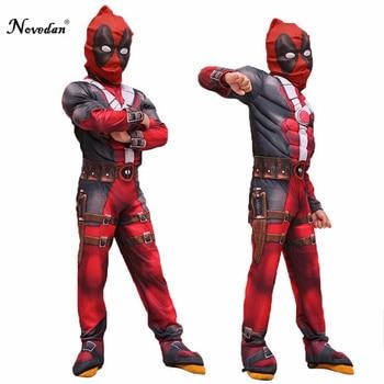 Kinder Deadpool Kostüm Für Jungen Party Maske Anzug Marvel Legends Deadpool Cosplay Kostüm Halloween Für Kinder Karneval