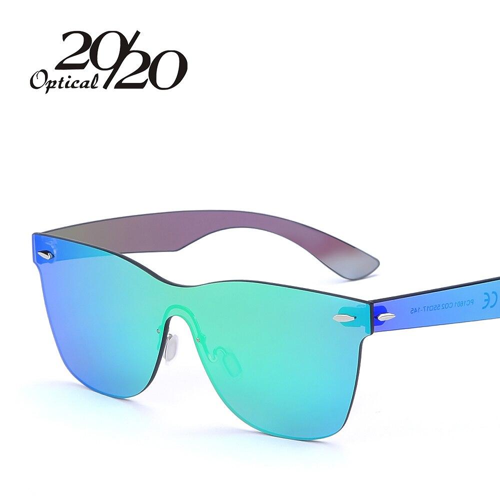 Rimless Glasses Xiv : 20/20 Brand Vintage Style Sunglasses Men Flat Lens Rimless ...