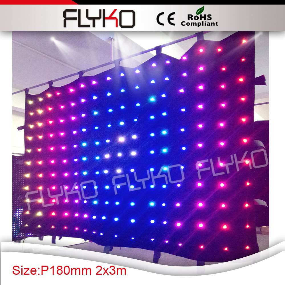 flyko p18 led video curtain 11