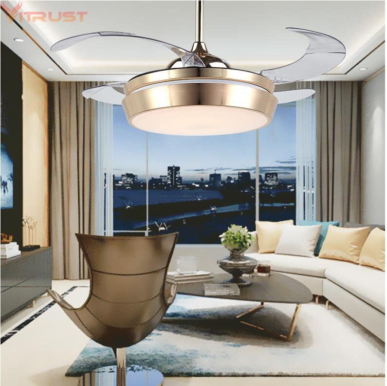 Ultimate Guide To Bedroom Ceiling Lights: Modern LED Ceiling Fan Lights Remote Control Folding