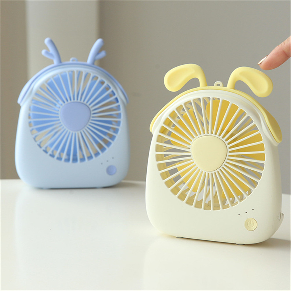 USB Gadgets Cool Fan Portable Electric Mini USB Fan Quiet Summer Cooler Desktop Office Fan (1)