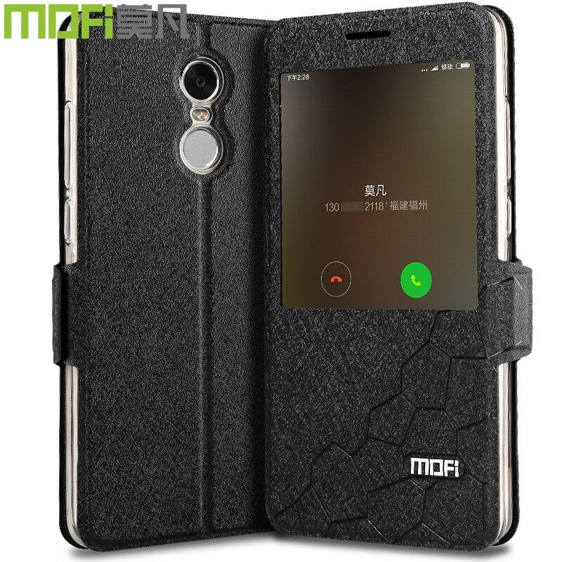 Xiaomi Redmi Note 4x fodral MOFi redmi Note4x film skal silikon Xiomi - Reservdelar och tillbehör för mobiltelefoner - Foto 4