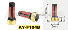 100pieces fuel injector filter  13.8*6*3mm for mitsubishi car  fuel inejctor service kits  for AY-F104B oem md619962