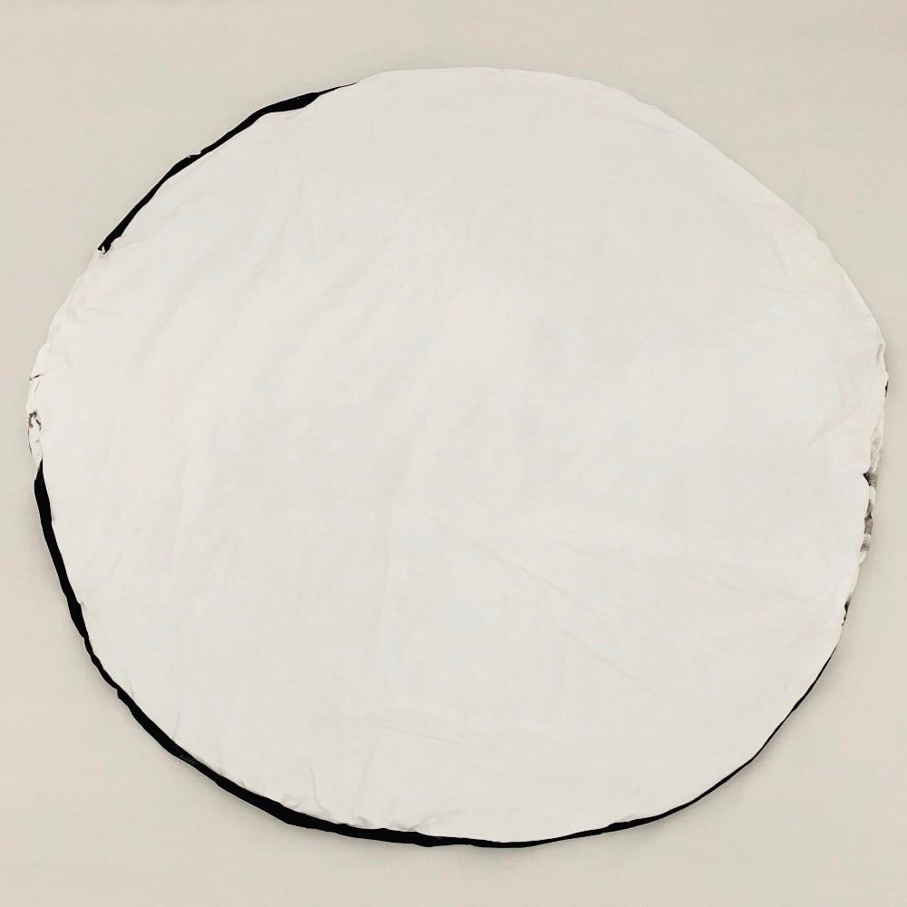 INS Moon моделирующий игровой коврик круглый детский ползающий коврик