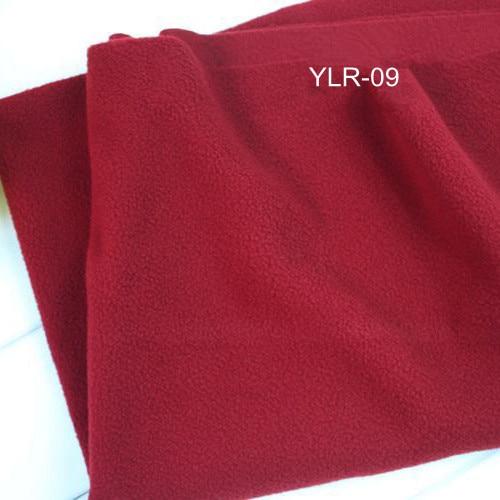 Burgundy Red Soft Polar Fleece Fabric for Kids Cloth Tricot Baby Cloth Sleep Coat Fleece Fabrics <font><b>Blanket</b></font> 50x150cm YLR-09