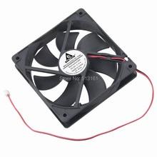 купить 2 Pieces 120x120x25mm 12cm Computer Case Motor Cooler 120mm 24V DC Cooling Fan по цене 1022.31 рублей