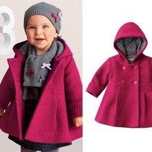 ; новое пальто для маленьких девочек; теплая зимняя детская верхняя одежда розового цвета; Тренч; модная детская одежда; опт и розница