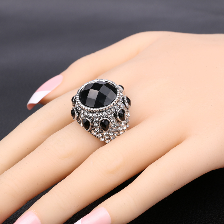 rings gemstone accessories jewelry cubic silver product side shiny ladies wedding temperament sterling with ring stone zirconia plated from big inlaid